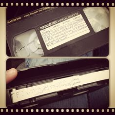 If you have an old VHS tape sitting at home, turn it into a creative cache! The cassettes are pretty easy to open, & you can replace the tape with a log strip. Put in a tight container & hide in the woods. If you use Rite in the Rain paper it will probably be stronger, and since it's waterproof you have to worry less about moisture. (pinned from pic by Ms Mandi on websta to Maker Madness Geocache Ideas - pinterest.com/islandbuttons/maker-madness-geocache-ideas/)