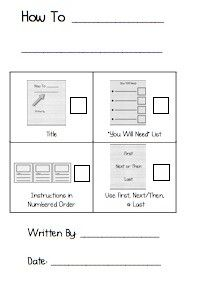 use checklists to help kids edit and revise their writing (checklists embedded on their actual paper!)