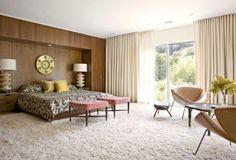18 Vivid and Chic Mid-Century Bedroom Design Ideas | Rilane - We Aspire to Inspire