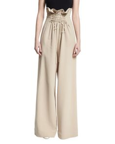 d3520bbf00 Roy+High-Waist+Wide-Leg+Pants+by+THE+
