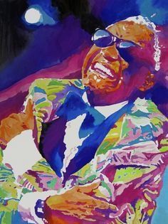 Musician Art - Brother Ray Charles by David Lloyd Glover Ray Charles, Jazz Artists, Music Artists, Art Music, Baltasar Gracian, Pop Art Images, Belle Silhouette, The Blues Brothers, Thing 1