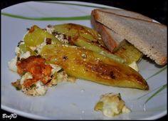 Pečená paprika plnená syrom