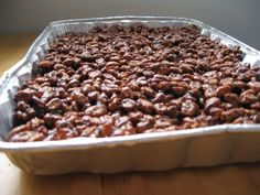 If there is one recipe for which I always have ingredients for it is puffed wheat squares! This delicious dessert/snack can be whipped up in...