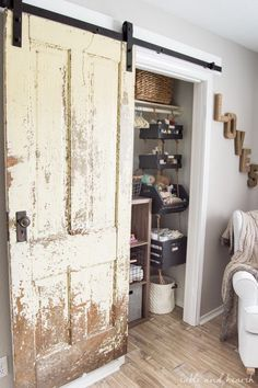 Finally A Step By Step Walkthrough On How To Install An Antique Barn Door