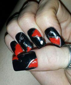 My zipper nails