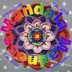 This is my official page for the Mandala Madness CAL which will start on Thursday 17th March 2016.