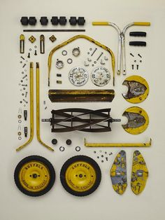 The Art of Meticulous Disassembly by Todd McLellan