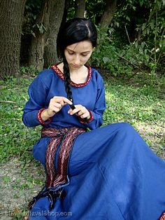 Early medieval linen underdress