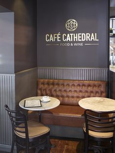 Café Cathedral in Oslo, designed by Metropolis arkitektur & design. Ragnar, Oslo, Dining Bench, Cathedral, Interior, Projects, Furniture, Design, Home Decor