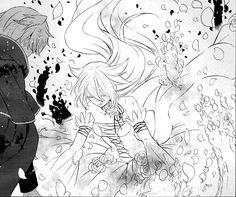Swirling petals / Pandora Hearts manga