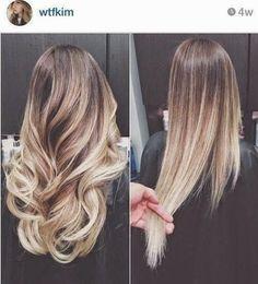 Cabelos mechados com tons mais claros continuam em alta e a última novidade é o sombré hair ...Como leiga, acredito que diferença do sombré...