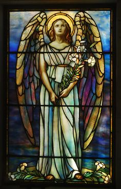 Rock Creek Cemetery - mausoleum's stained glass window | Flickr - Photo Sharing!