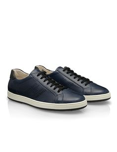 #HOGAN Men's Spring - Summer 2013 #collection: leather #sneakers H192.