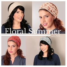 #Floral summer  Come and visit - https://www.etsy.com/il-en/shop/TAMARLANDAU?section_id=13223320ref=shopsection_leftnav_4  #headcover #bandana #headwarf #headscarf #modestfashion #kosherfashion #tzniutfashion Christianheadcover #frumheadcover #tsniout