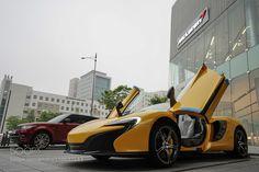 Mclaren 650s Spider Volcano Yellow by HyukJunJoh