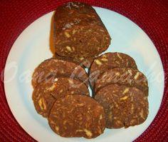 Cooking with love  !  : SALAM DE BISCUITI (CHOCOLATE SALAMI DESSERT)