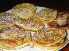 Cheesecake Cupcakes, Dumplings, Sweet Recipes, Pancakes, French Toast, Food And Drink, Cooking Recipes, Sweets, Bread