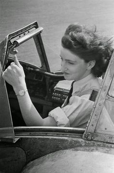 First Officer Maureen Dunlop , of the ATA , in the cockpit of a Fairey Barracuda torpedo bomber, September ATA pilots are trained to deliver newly manufactured aircraft from the factory to. Get premium, high resolution news photos at Getty Images Ww2 Aircraft, Military Aircraft, Nose Art, Female Pilot, Military Female, Airplane Pilot, Pin Up, Historical Pictures, Women In History