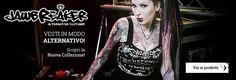 #Jawbreaker è il brand dell'East End londinese specializzato nella produzione di abbigliamento alternativo. Affonda le sue radici stilistiche nel mondo underground della sottocultura inglese. Richiami al mondo Punk, al filone gotico di stampo vittoriano e al moderno e magnetico Steampunk. La collezione vanta capi di abbigliamento unici nel proprio genere.