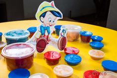 Liam's 3rd Pinocchio Party | CatchMyParty.com