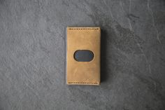 This Front Pocket Wallet was handcrafted from high quality sturdy leather. The wallet looks like amazing. This slim wallet has 3 card pockets and one pocket to hold your folded money. For those who prefer a more streamlined approach, this slim card case is perfect for holding just the essentials. This handmade wallet will surely impress you, especially if you gift it to a special person. It will be a great gift for your dad or boyfriend.  ————————————————————— PRODUCT FEATURES…