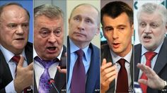 Know your Russian presidential candidates. Election's next month!