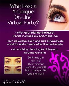 Who wants to Host an Online Make-Up party?!?   I do all the work while you add your FB friends.  There will be give-aways and games to play!!  You can earn FREE make-up!  Go to https://www.youniqueproducts.com/angeleeka2