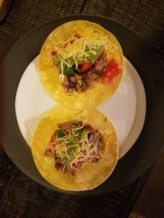 My Amazing Husband made me pork tacos!! He so spoils me😍❤