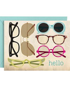 Glasses Hello A2 Stationery