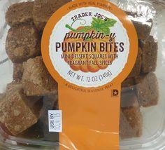 What's Good at Trader Joe's?: Trader Joe's Pumpkin-y Pumpkin Bites