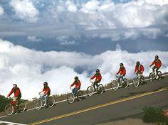 Maui, Hawaii.  Favorite memory was biking down Haleakala with Dan on our anniversary.