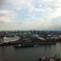 View from 20up @Hamburg