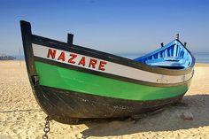 Nazare Beach Boat