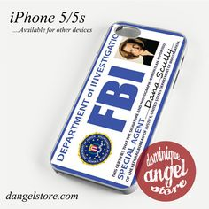 Agent Dana Scully FBI 2 Phone case for iPhone 4/4s/5/5c/5s/6/6 plus