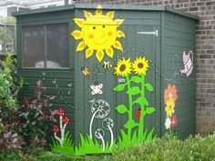 shed murals - Google Search