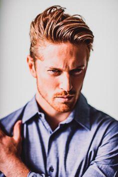 Hair Inspiration: Men's Hairstyles www. Cool Haircuts, Haircuts For Men, Cool Hairstyles, Elegant Hairstyles, Hair And Beard Styles, Long Hair Styles, Cooler Stil, Business Hairstyles, Men's Grooming
