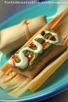 Jalapeño Cheese Tamales. Really want to try to make with chicken though!