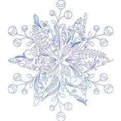 Christmas ClipArt #18 (81).png ❤ liked on Polyvore featuring christmas and snow flakes