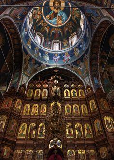 Saint Alexander Nevsky Cathedral in Nizhny Novgorod Greece Architecture, Byzantine Architecture, Church Architecture, Religious Architecture, Historical Architecture, Catholic Art, Religious Art, Landscape Photography, Scenic Photography