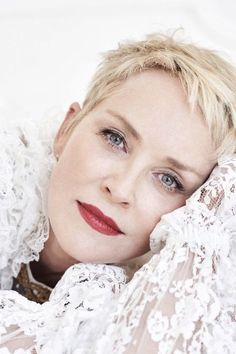 Sharon Stone for Haute Living // November 2017 photographed by Frederic Auerbach