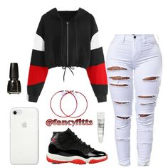 Pin on Baddie Outfit Nike Outfits, Swag Outfits For Girls, Casual School Outfits, Cute Comfy Outfits, Teenage Girl Outfits, Cute Casual Outfits, Teen Fashion Outfits, Stylish Outfits, Jeans Fashion