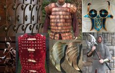 List of DIY Armor Tutorials: Metal and chain mail, brigandine, foam, wonderflex, leather.