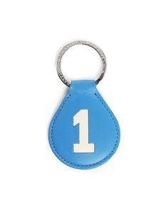 Porte clés bleu Numbers