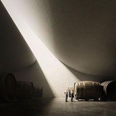 darcstudio_troy: Peter Zumthor - Domino de Pingus Winery. Unbuilt.