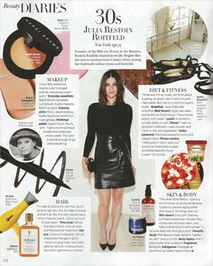 Julia Restoin Roitfeld: Beauty Diary - Journal - I Want To Be A Roitfeld