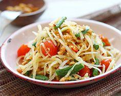 Green Papaya Salad | Green Papaya Salad Recipe | Easy Asian Recipes at RasaMalaysia.com - Page 2
