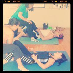 "@inspirahpilates's photo: ""Liberando restricciones musculares #inspirahpilates #kihara """