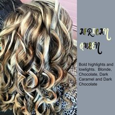 low lights, and highlights. Looks like a zebra Love Hair, Great Hair, Hair Color Highlights, Platinum Highlights, Brown Highlights, Platinum Blonde, Hair Color And Cut, Fall Hair, Hair Dos