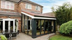 Do you need a replacement roof for your solid conservatory roof or glass conservatory roof? Use our VR tool to explore our replacement conservatory roofs. House Extension Design, Extension Designs, Glass Extension, Roof Extension, House Design, Extension Ideas, Lean To Conservatory, Conservatory Extension, Orangery Conservatory