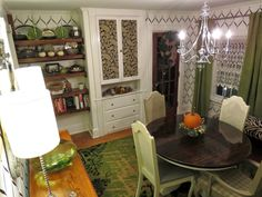 While I Linger: Dining Room Completed-Check!